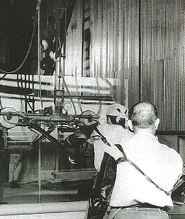 The PPG process was introduced as new technology at VASA in 1964.