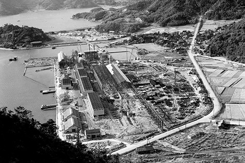 Maizuru Plant under construction