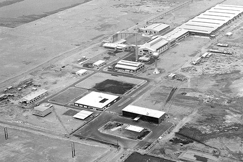 Chiba Plant under construction
