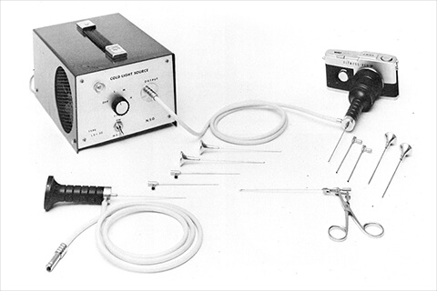 Endoscope using SELFOC™