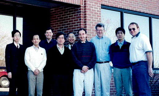 Online CVD installation team and PLK personnel (at PLK in the U.S.)